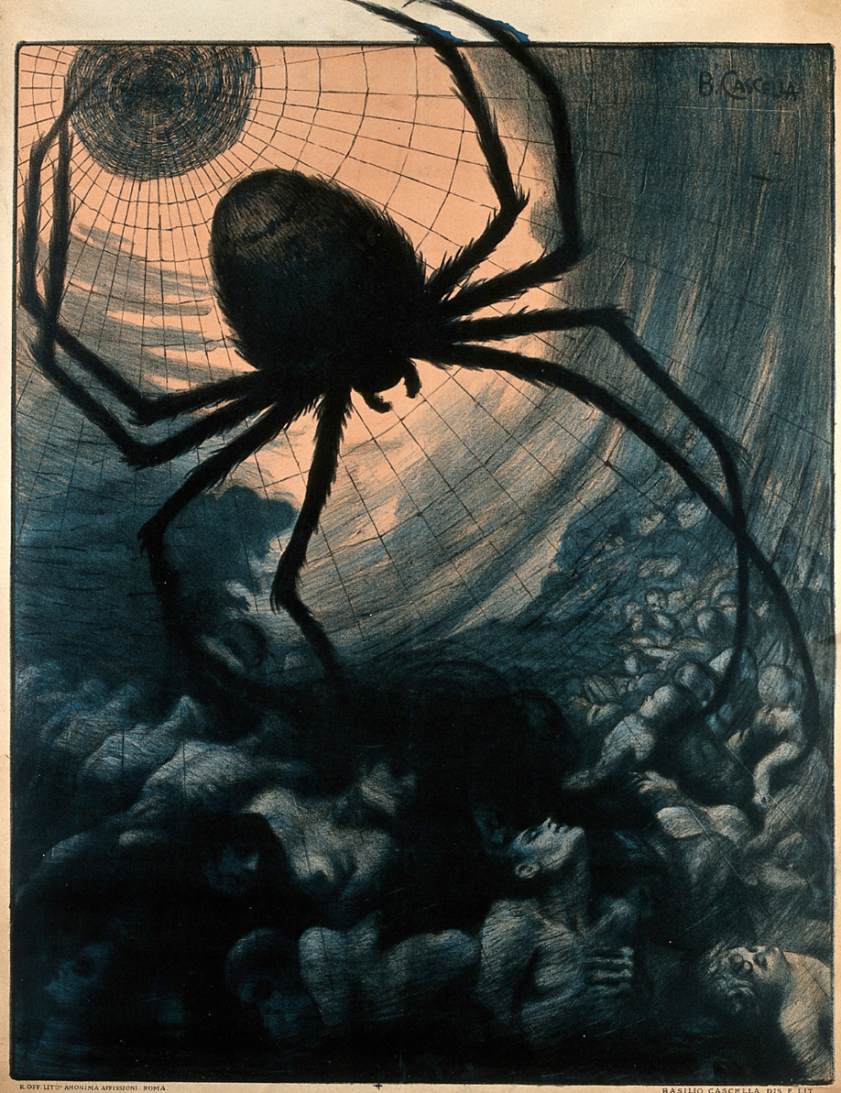 What Spiders Symbolize In Dreams Exemplore
