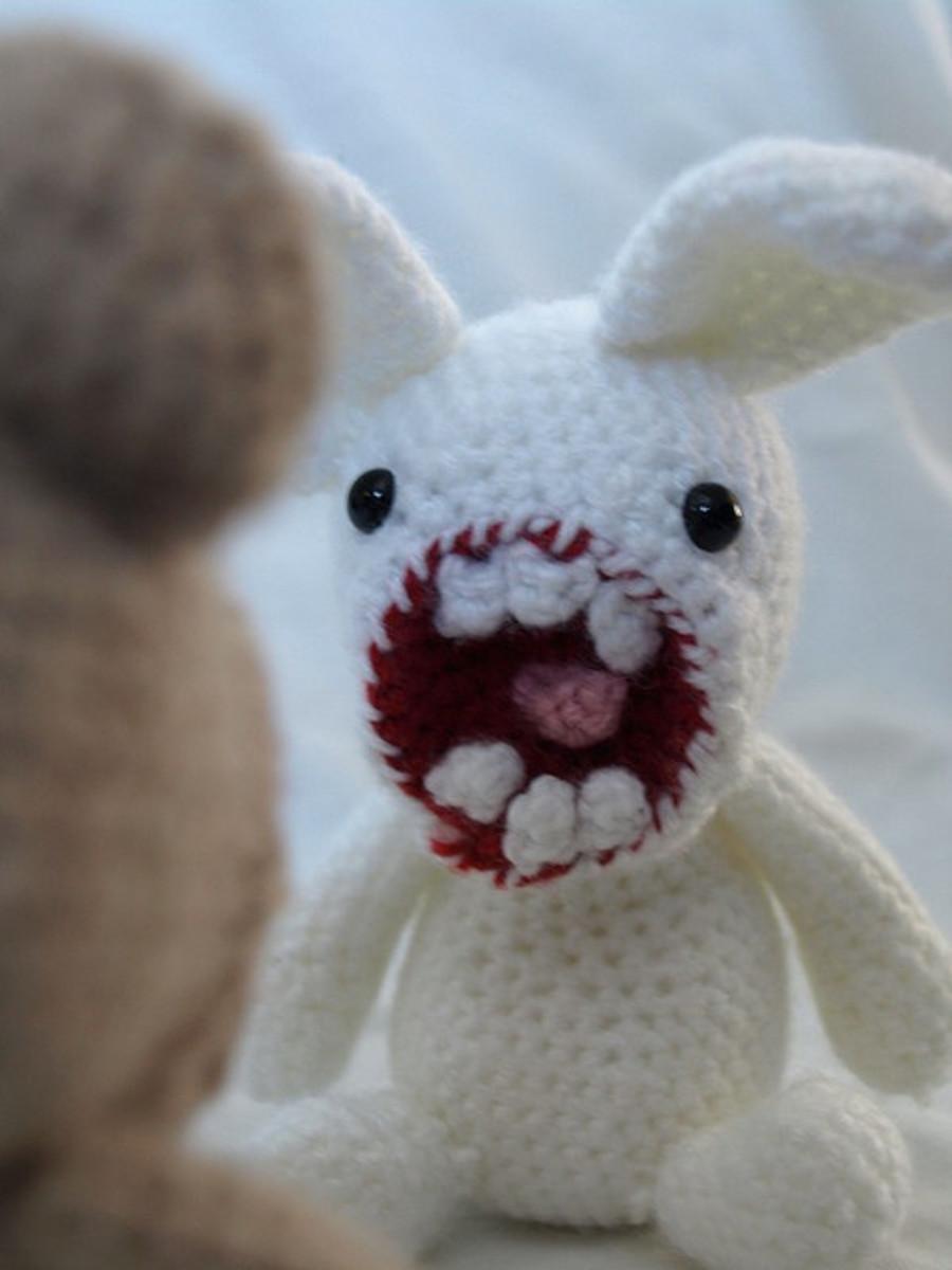 Rabbits can symbolize self-destructive tendencies