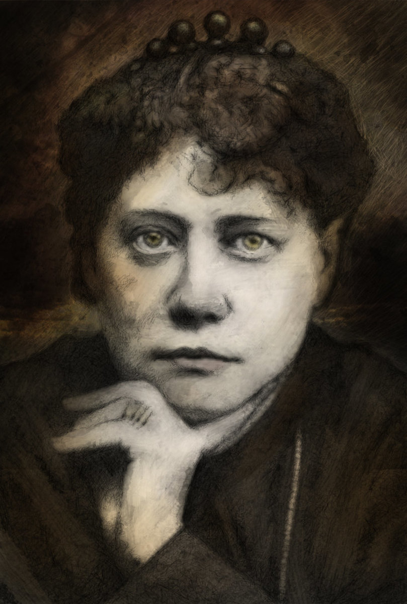 Madame Blavatsky influenced Adamski's early work.