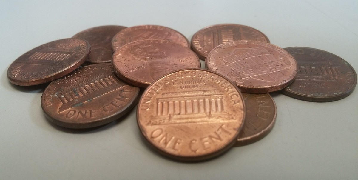 The more time you spend walking outside, the more chances you'll have to find lucky pennies!
