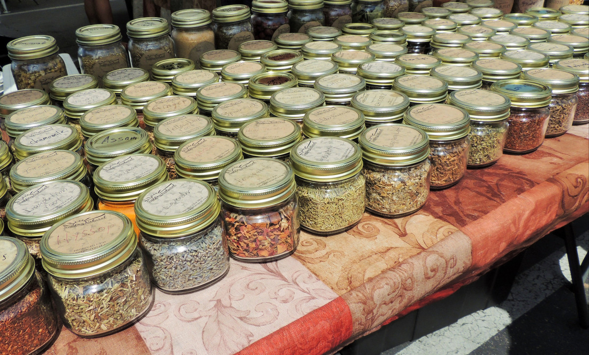 Herbs and spices have many magical and health benefits.
