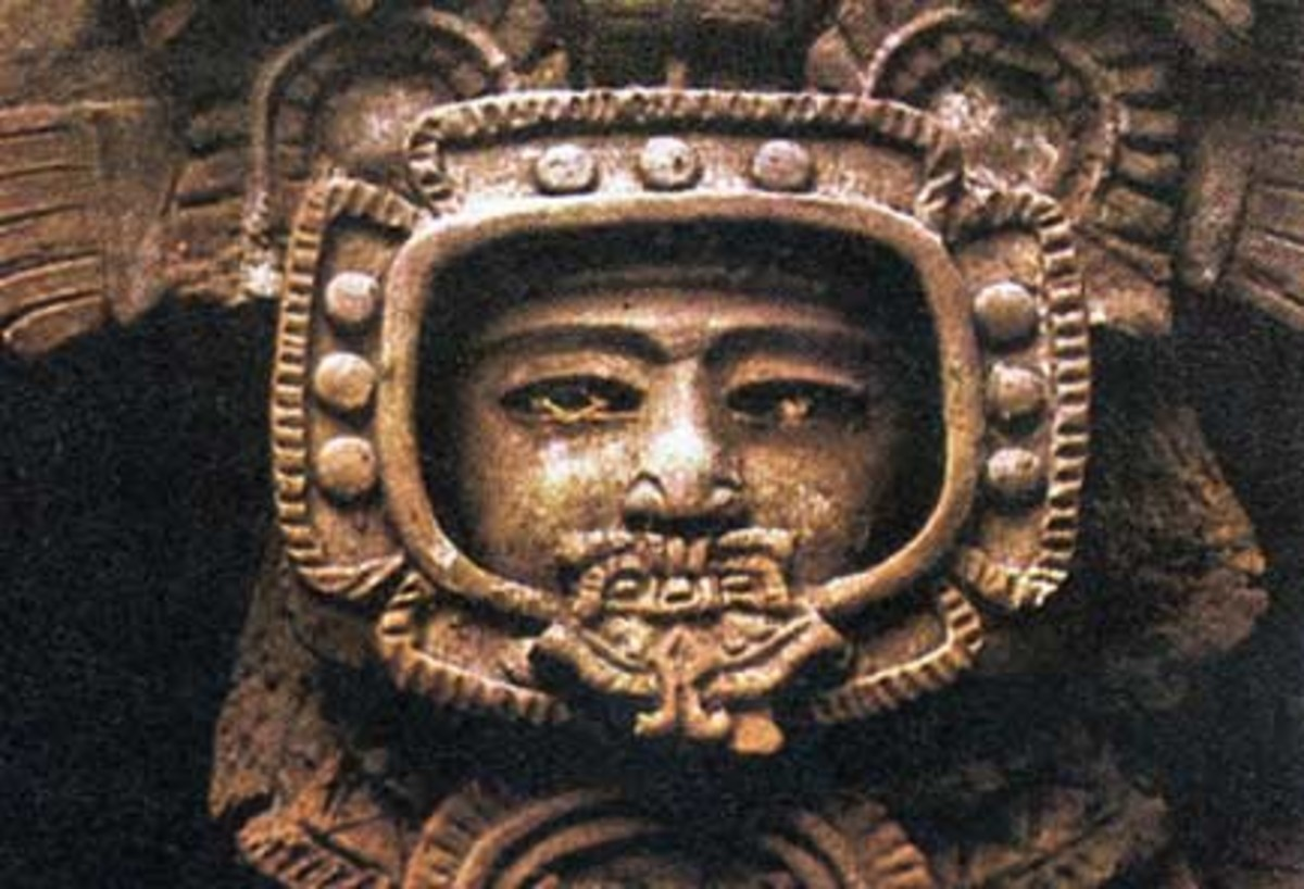 Ancient artwork depicting...astronauts?