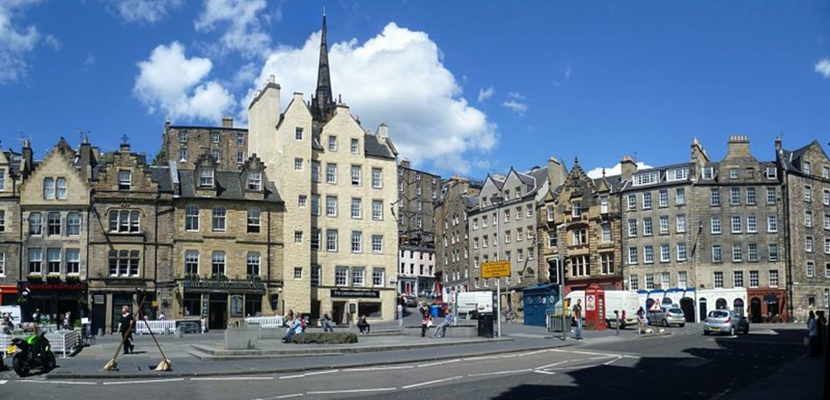 Grassmarket re-developed 2009–2010.
