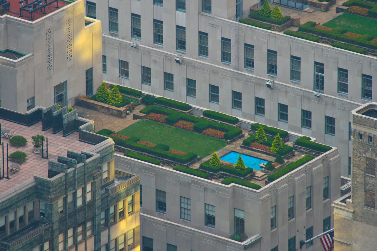 A rooftop garden would suit a Mercury in Libra.