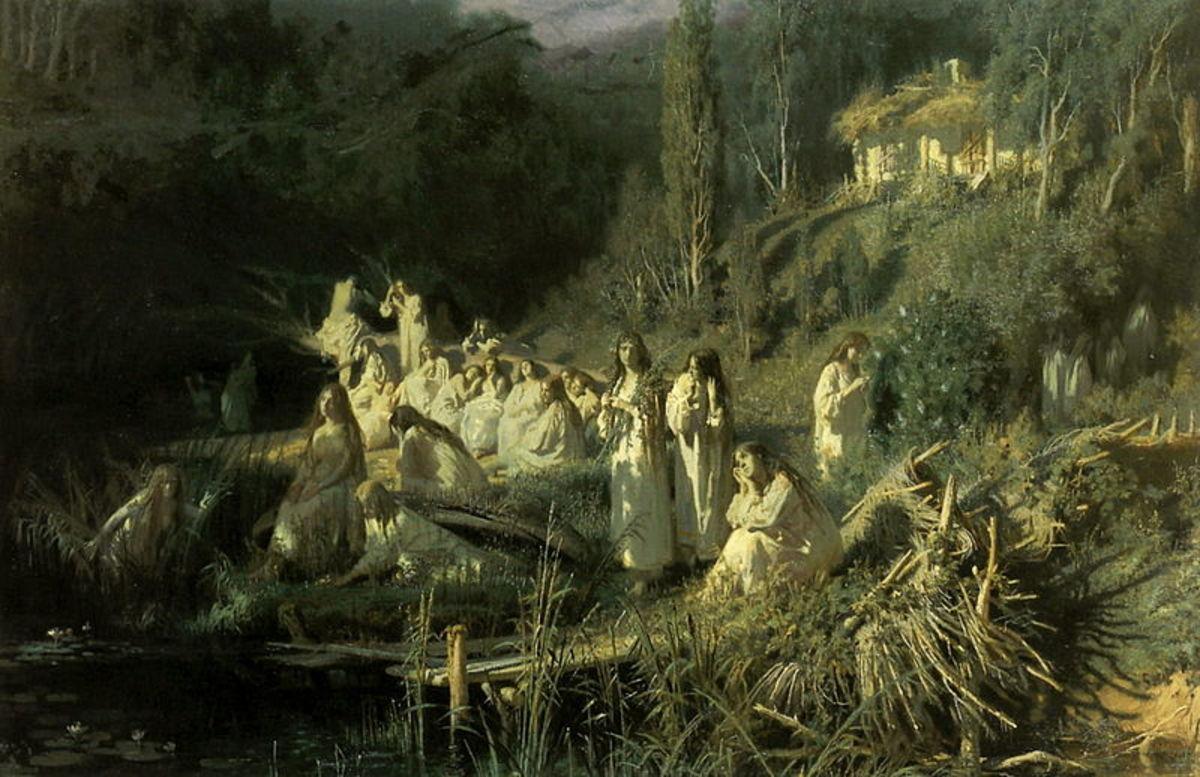"""Rusalka (""""The Mermaids"""")"""