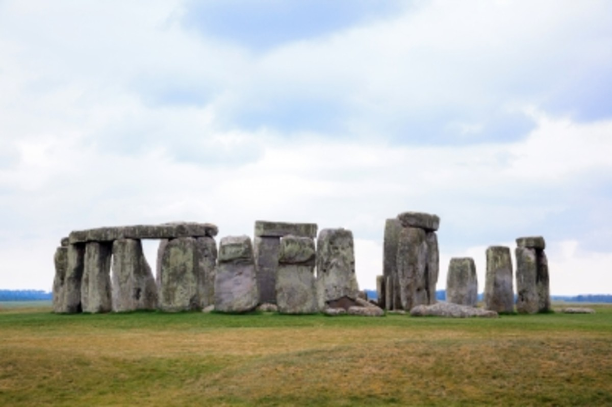 Some believe Stonehenge is the work of Druids.