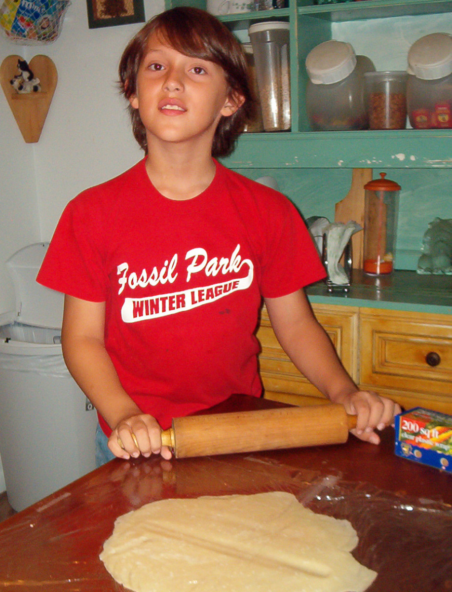 Bake bread together as a way to celebrate Mabon.