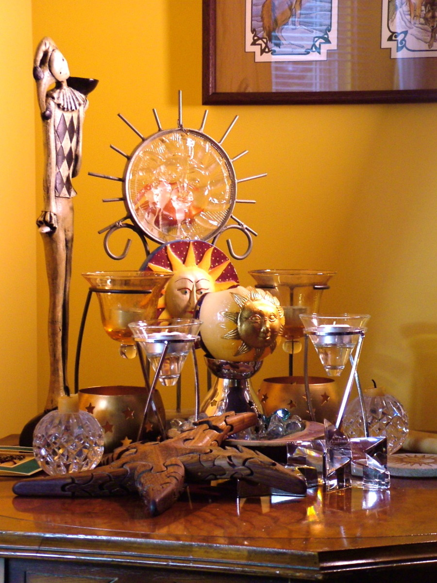 Wiccan altars don't need to be elaborate.