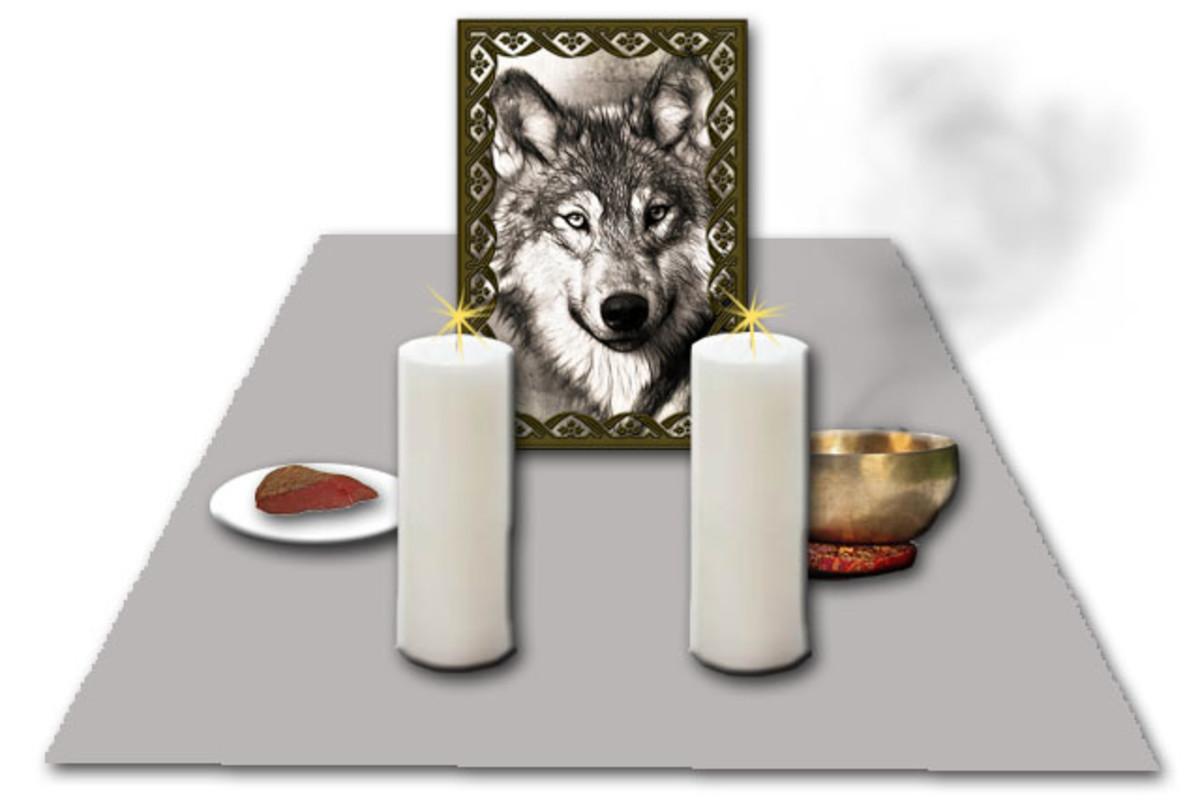 Altar Set-Up
