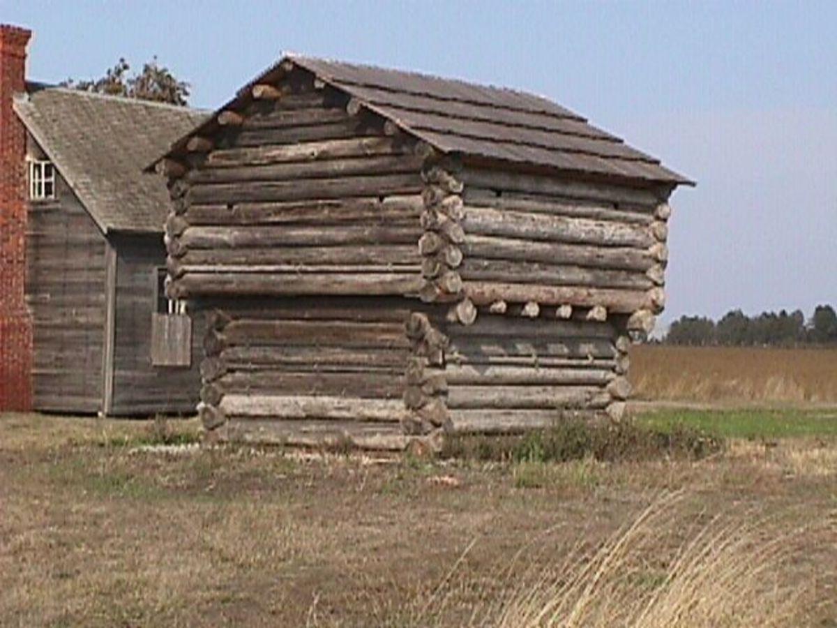 Jacob Ebey's blockhouse - Ebey's Landing National Historic Reserve.