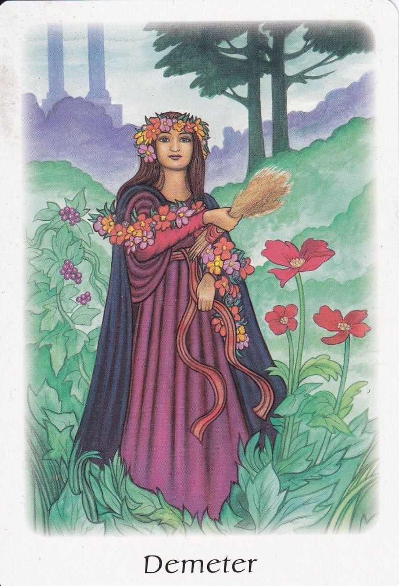 The Greek Goddess Demeter