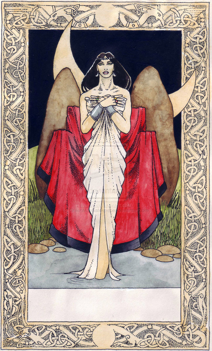 The Norse Viking Goddess Frigga