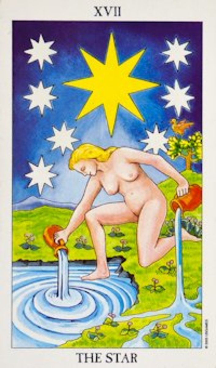 "The most popular ""Star"" Tarot card."