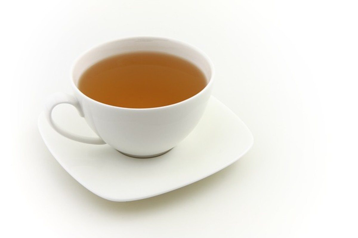 Healing teas can be very beneficial.