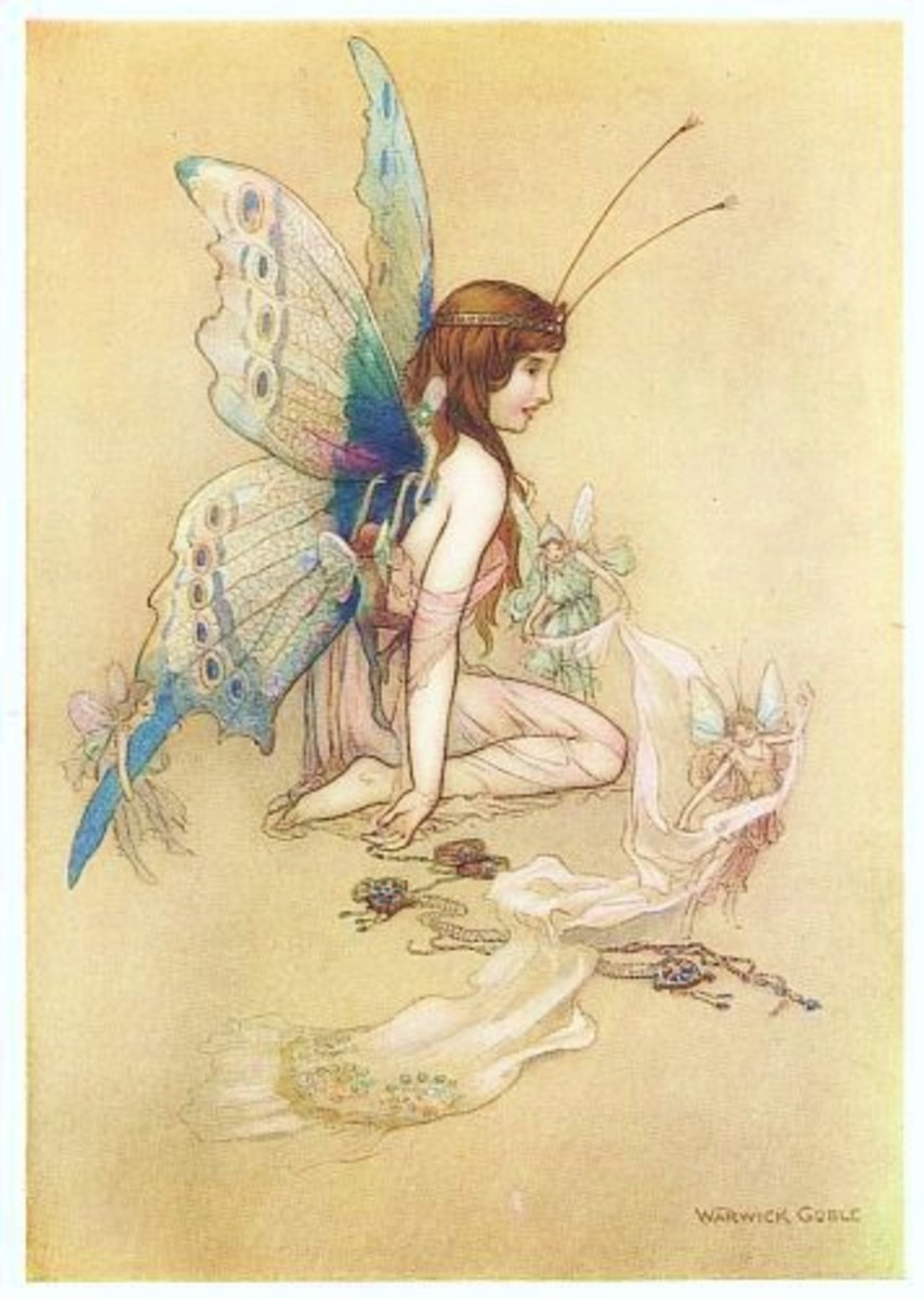 We all love the idea of fairies. But lets get real here. They're not our ancestors.