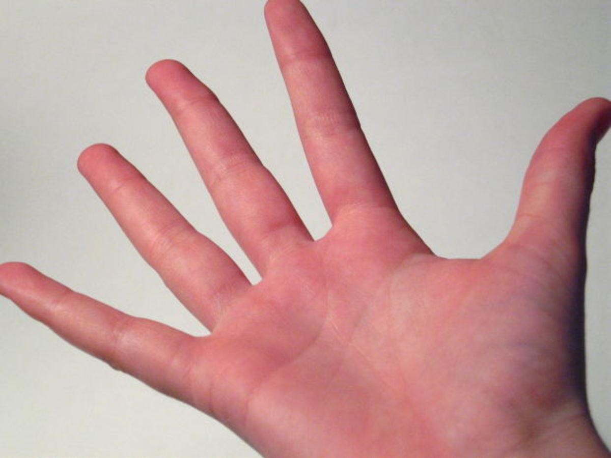 If your hands don't look normal, you're probably dreaming.