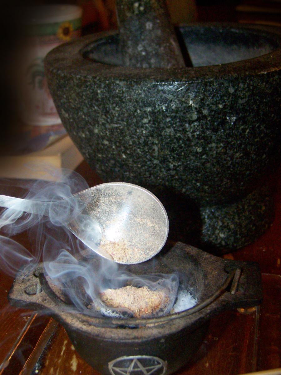 There's my tiny cauldron.