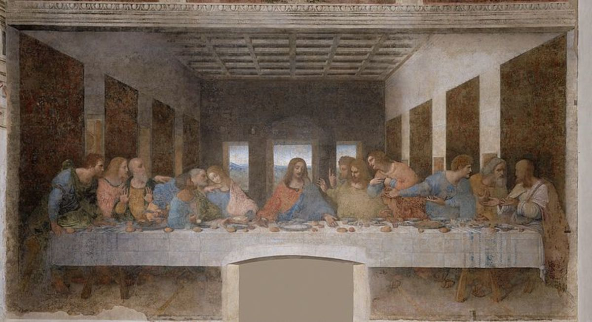 Did Leonardo Da Vinci help to perpetuate the belief of spilled slat as evil?