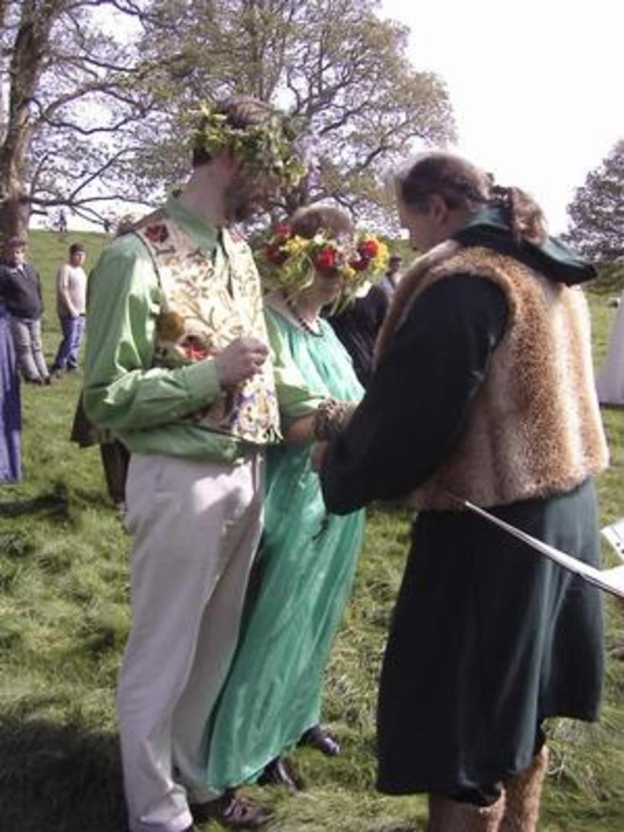 Outdoor Handfasting