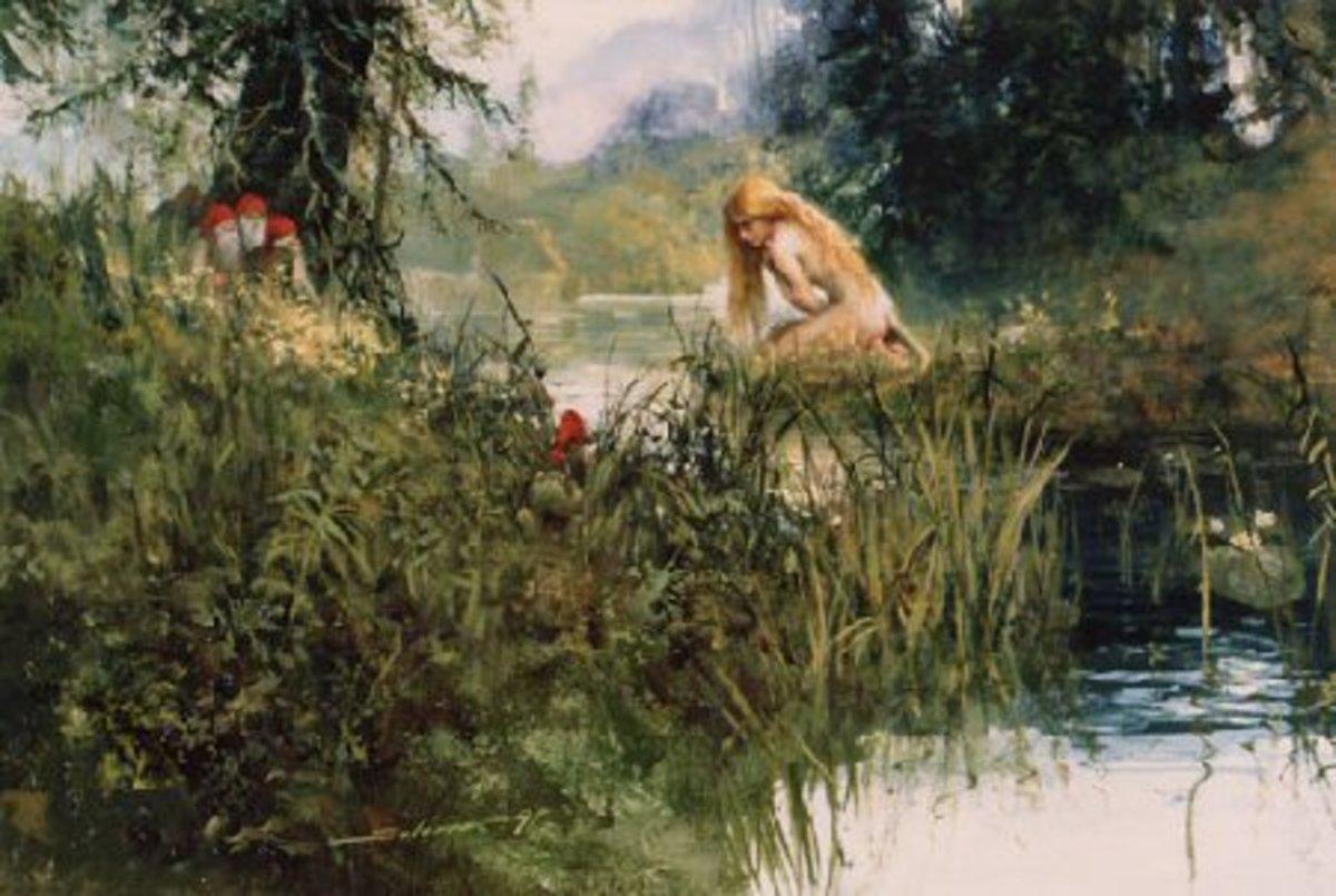 Huldra by Svein Solem