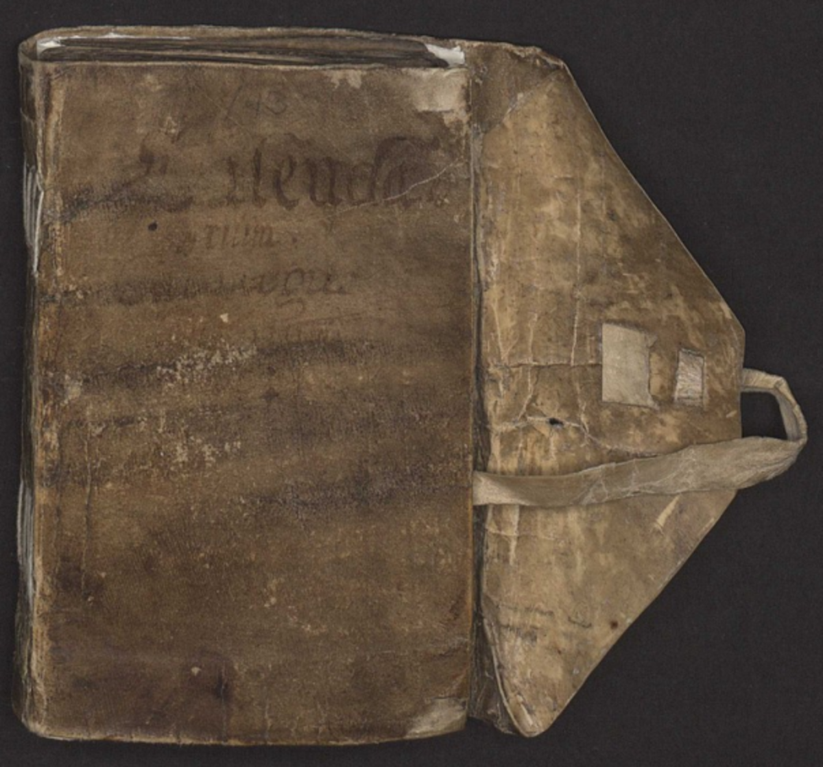 "The Galdrakver, translated loosly as ""little magic book"", dated 1670"