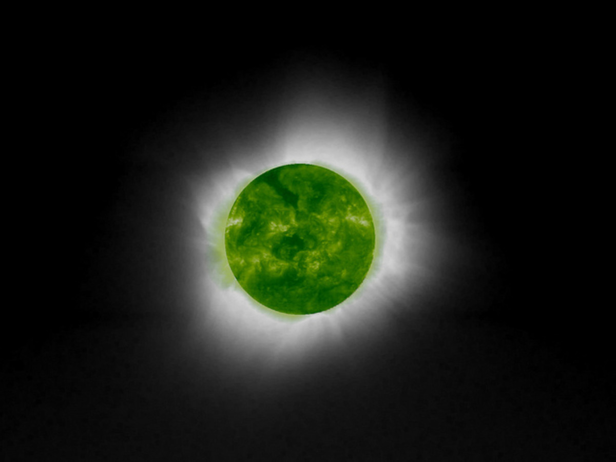 Green Moon Solar Eclipse