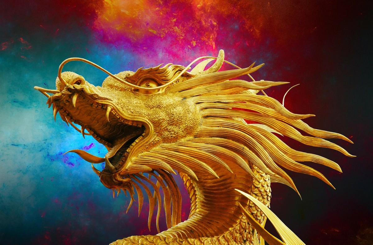 A golden dragon steals the heart of Griselda.