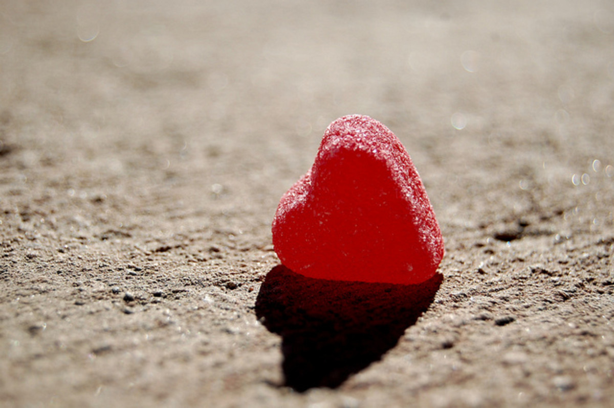 A lonely heart.