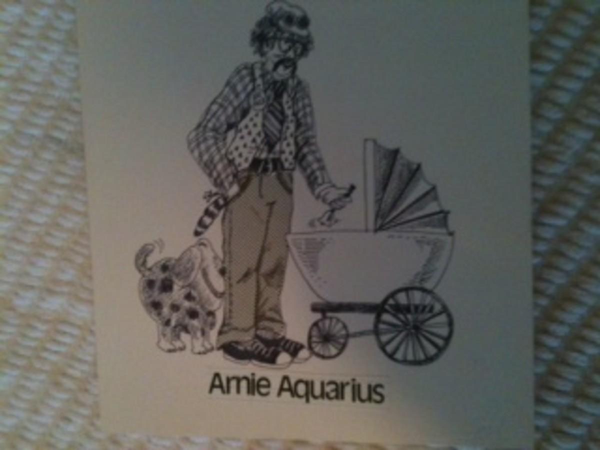 Arnie Aquarius loves to help everyone