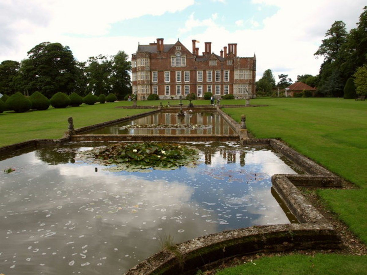 Burton Agnes Hall and its Ornamental Pond