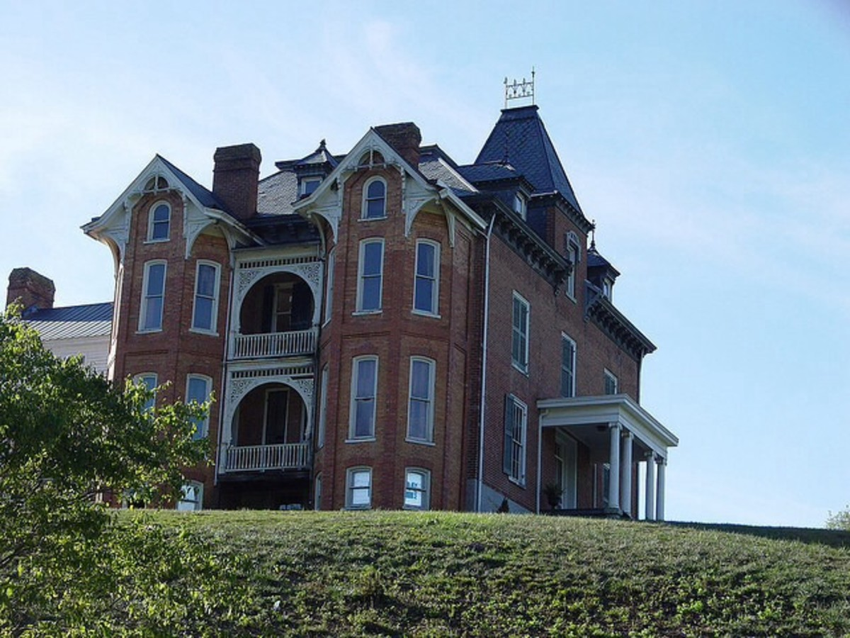 Major Graham Mansion / Haunted Places in Virginia