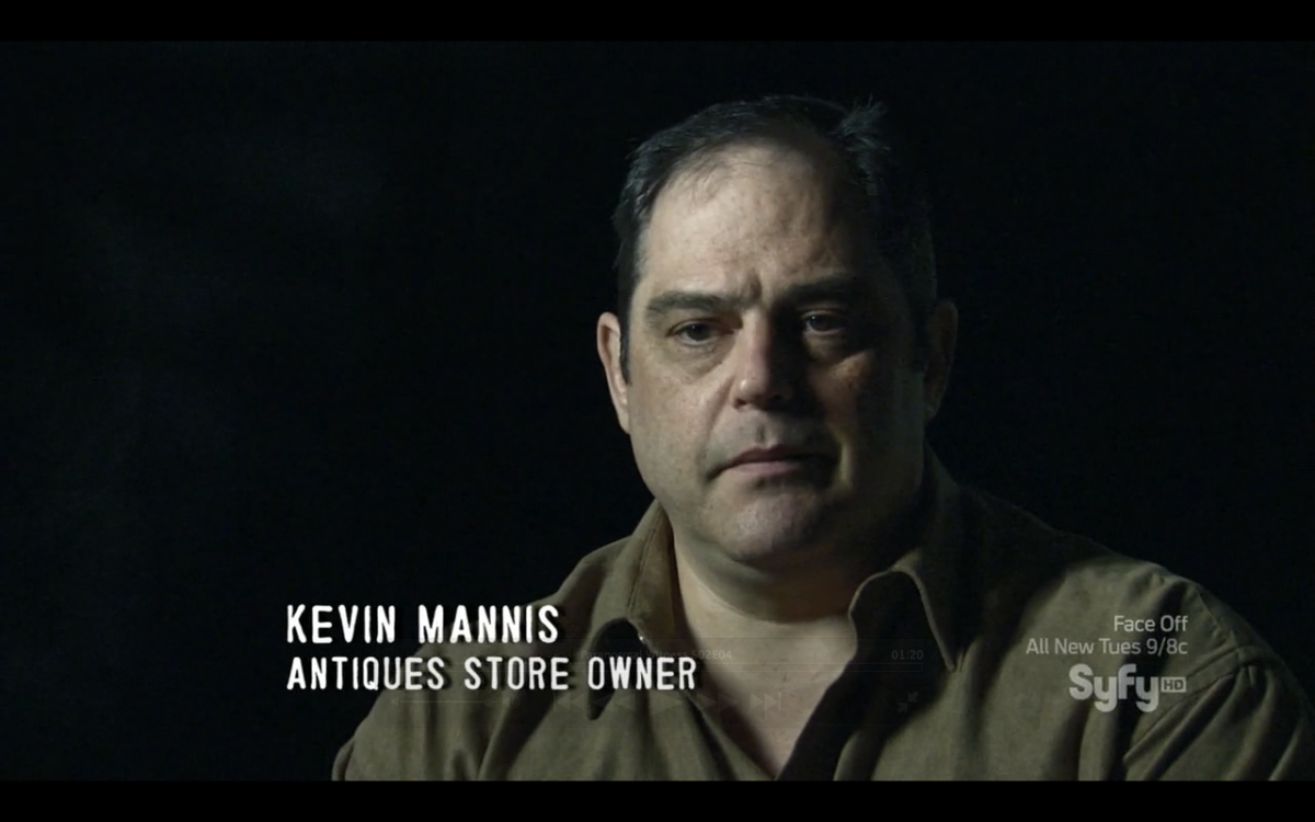 Kevin Mannis on Paranormal Witness on Syfy.