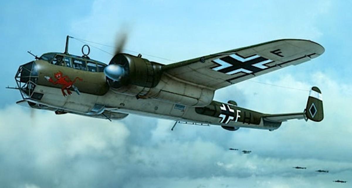 Dornier bomber airplane.