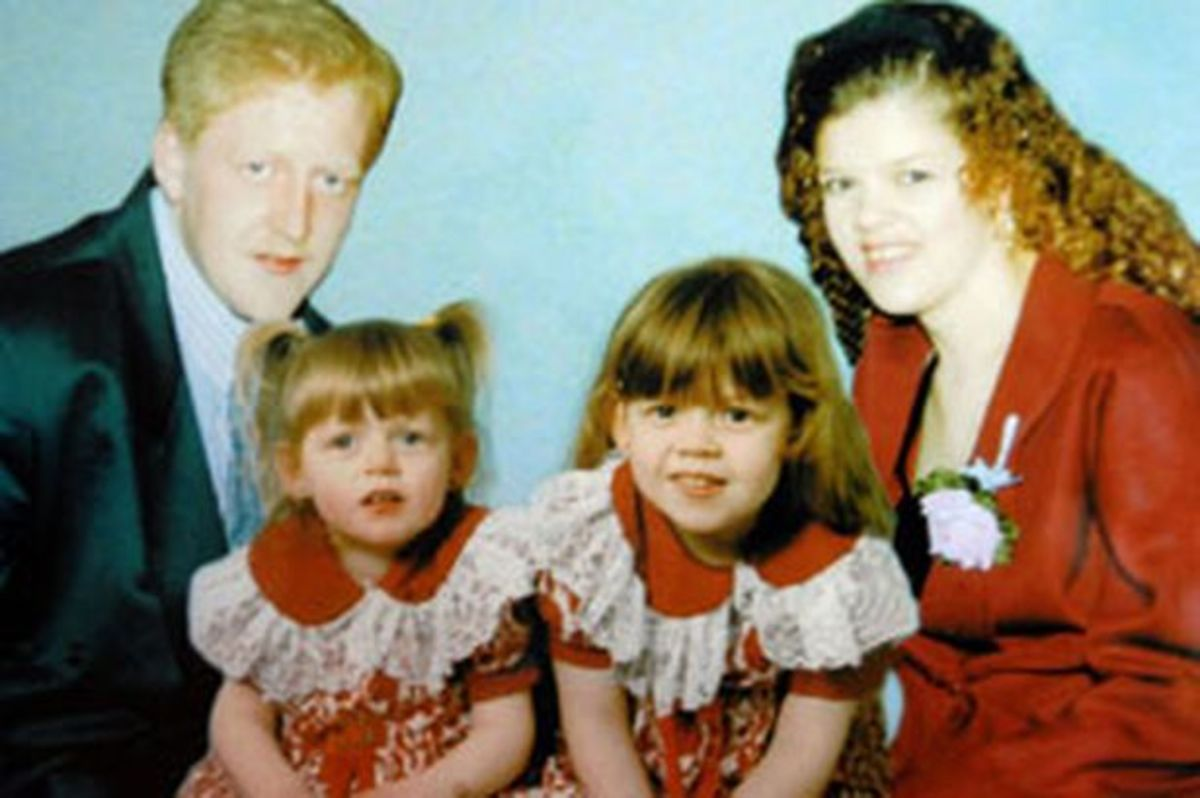 A composite photo of Carl and his family made by the police.
