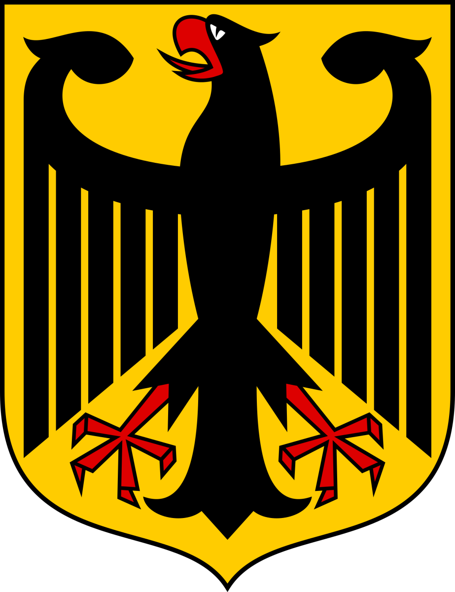German eagle coat of arms.