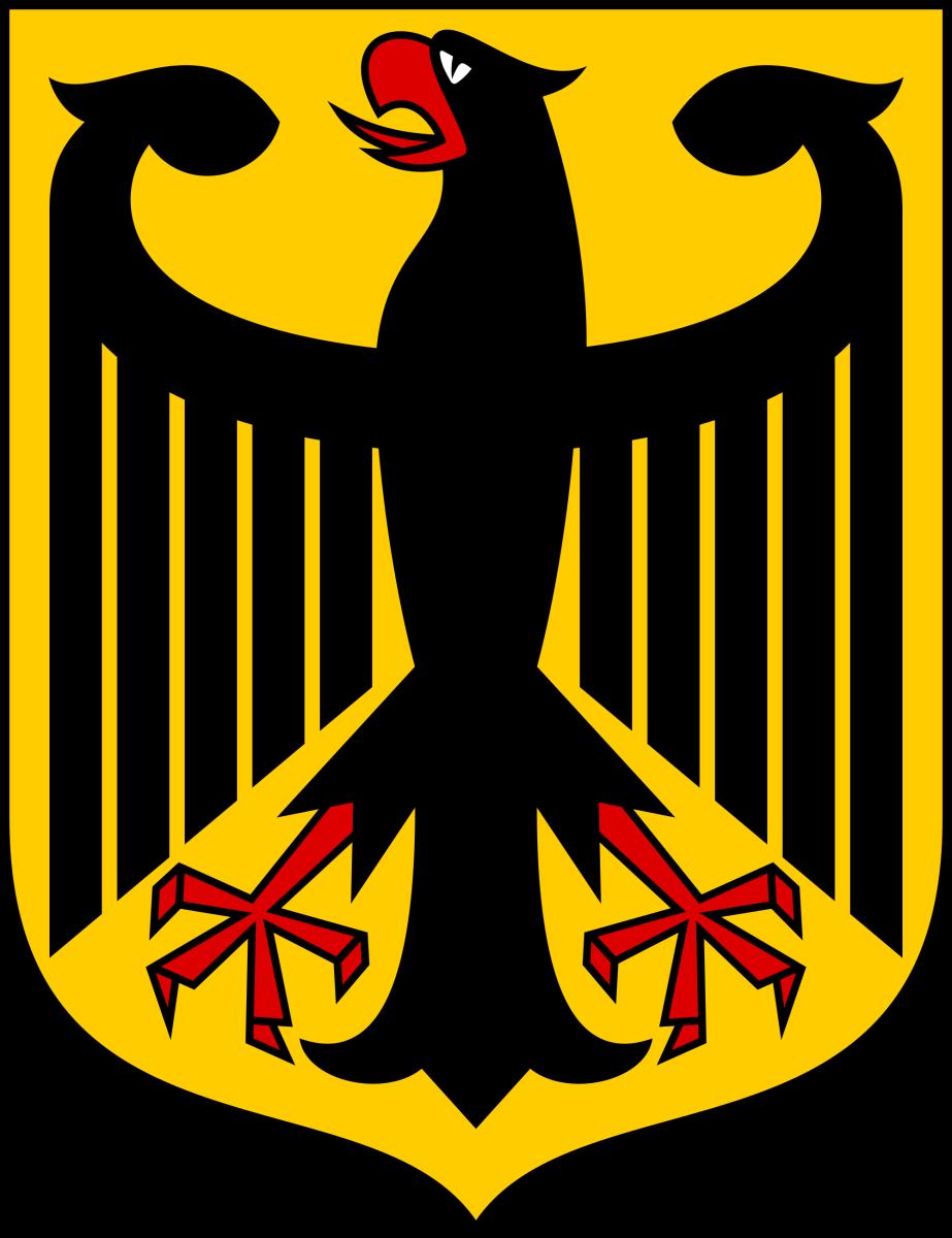 Escudo de armas del alemán Eagle