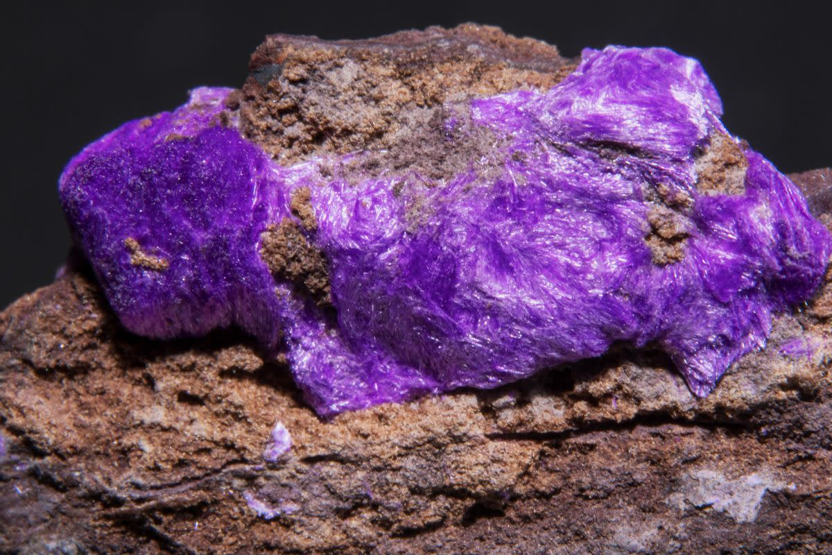 Sugilite is a purple crystal linked to forgiveness, emotional healing and jealousy.