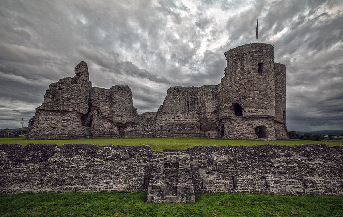 The Ghost of Rhuddlan Castle
