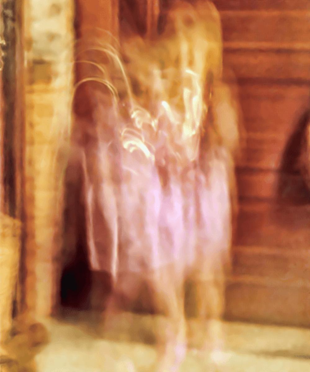 35mm camera captured at least three child spirits in the Villisca Axe Murder House kitchen.