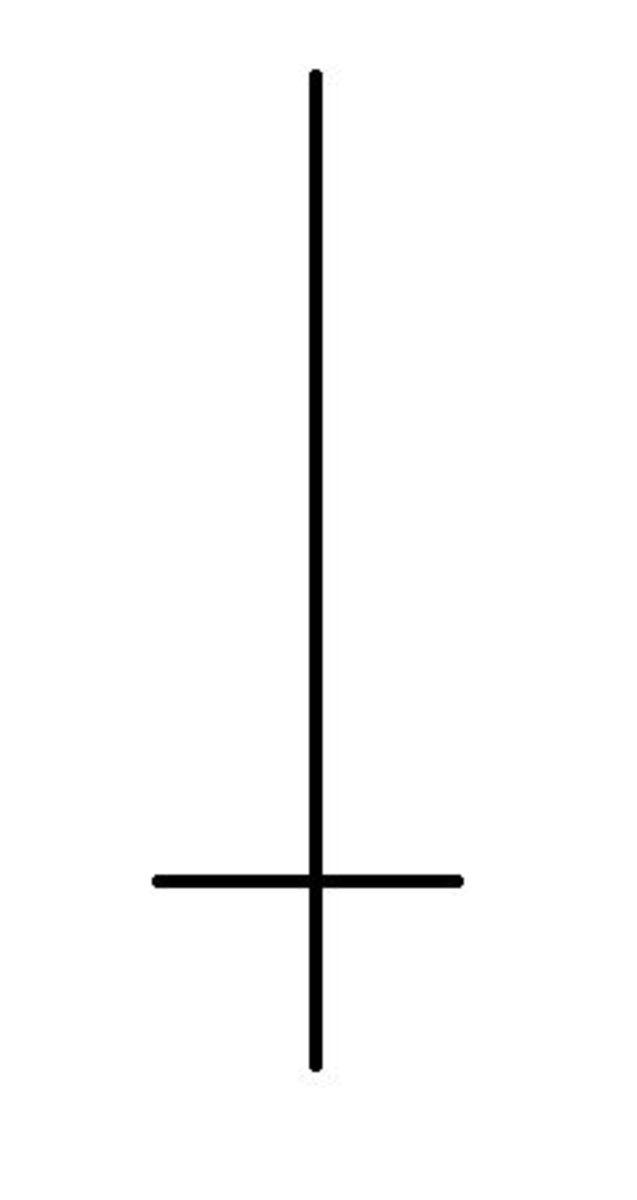 Athame symbol.