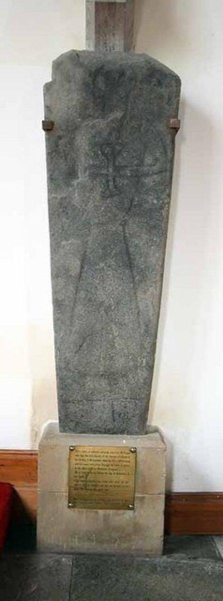 St. Angus' Stone. Photo by John Salmon.