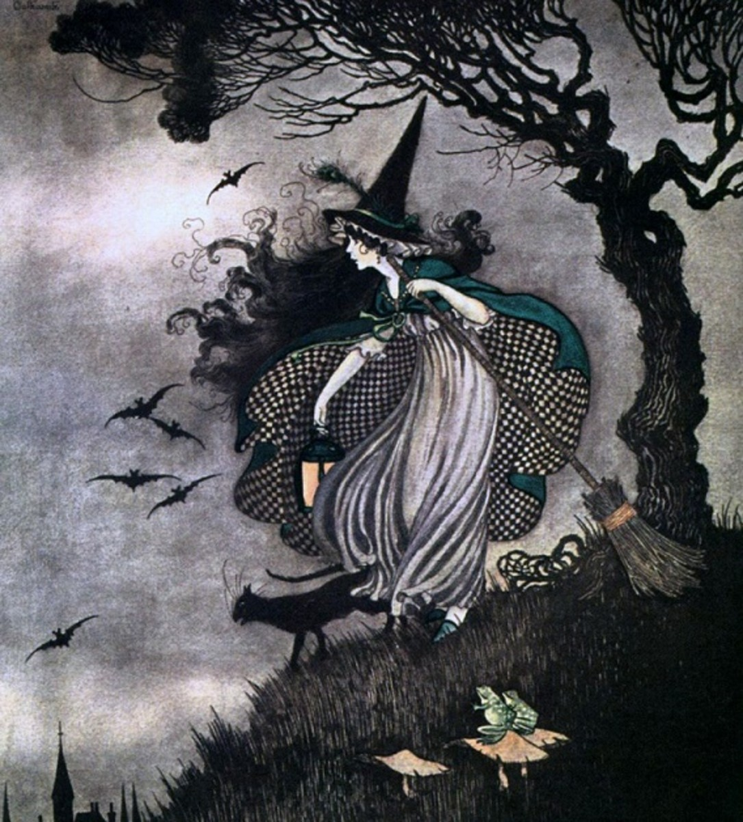Illustration by Ida Rentoul Outhwaite, circa 1921