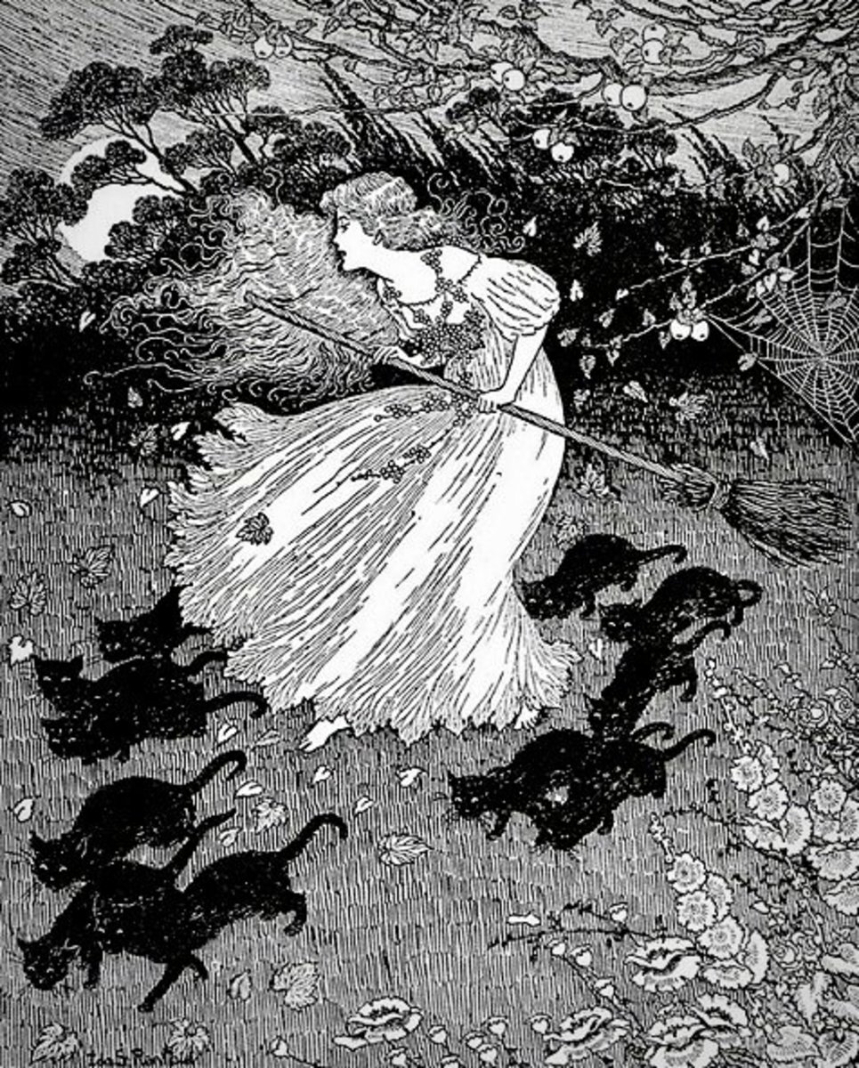 Illustration by Ida Rentoul Outhwaite