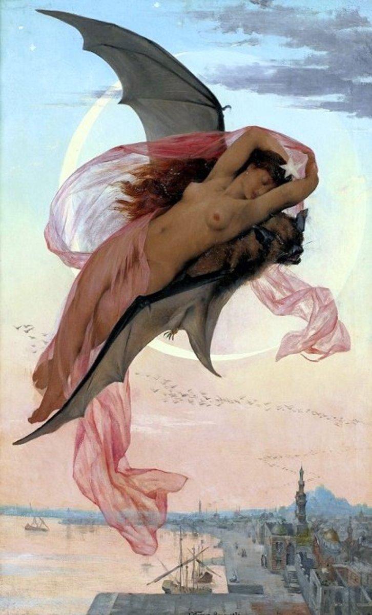 """""""Moonlit Dreams"""" by Gabriel Ferrier"""