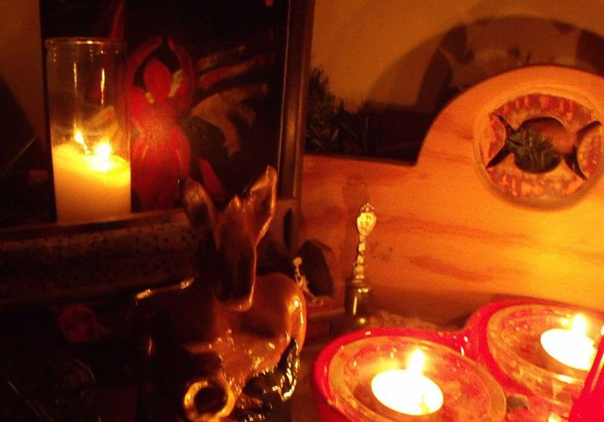 Samhain Ritual Altar