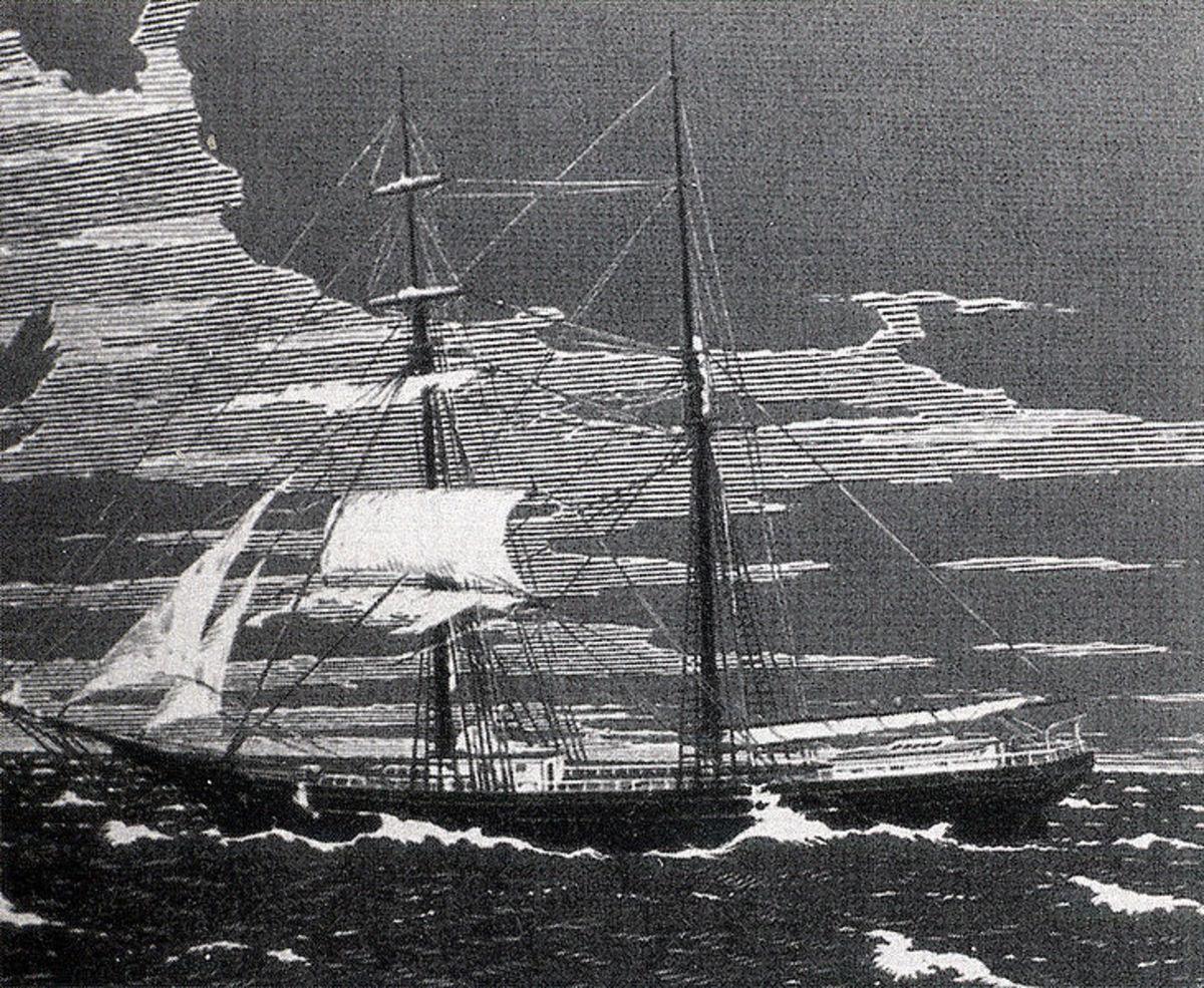 The Mary Celeste.