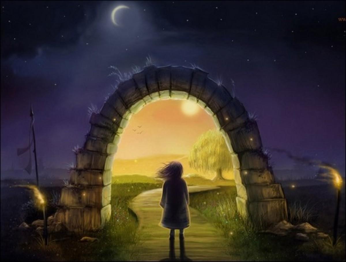 magic worlds parallel worlds through the mirror