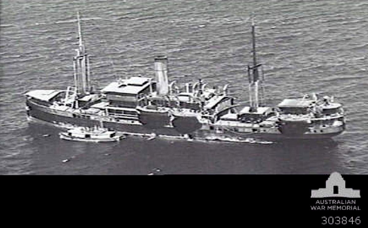 1940's Era Dutch Cargo Vessel