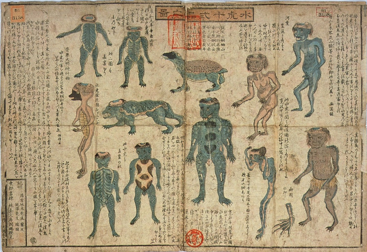 Illustrations of Kappa.