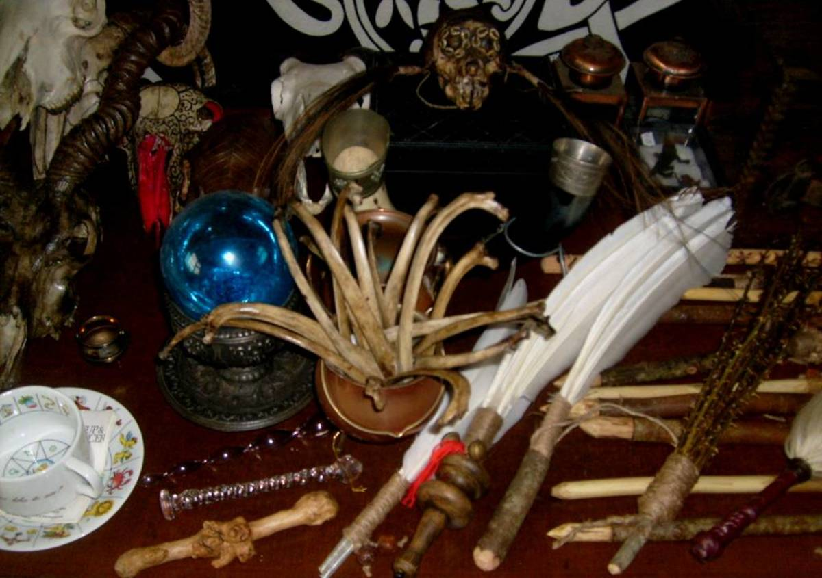 An example of a personalized altar.